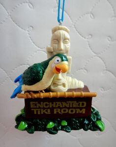 Disney Theme Park Character Christmas Ornament-Enchanted Tiki Room Birds