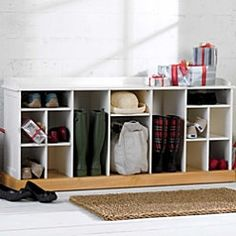 providence entry shoe u0026 boot bench great way to organize all types of footwear in an entryway or mud room this shoe storage bench assembles easily without