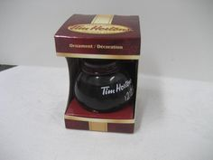Tim Hortons 2010 Ornament Coffee Pot Hard to find Coffee Time, Coffee Cups, Tim Hortons Coffee, Find Ebay, Ornament Tree, Coffee And Donuts, Canada Eh, I Cup, Christmas Tree