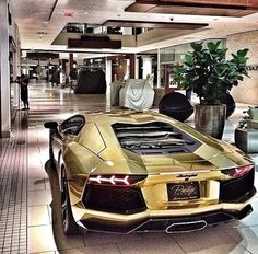 Luxury lifestyle!! | #gold #Lamborghini #aventedor