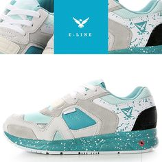 (SBENU) E-LINE CANDY LAGOON E(LA)-011MS Men Womens Sneakers Running Shoes AOA IU #SBENUhellobincom #RunningFashionSneakersShoes