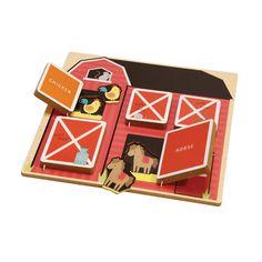 Edie - Hide & Seek Wooden Puzzle - Assorted | Kmart