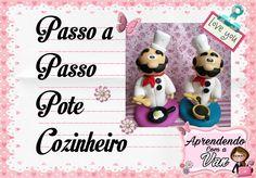 (DIY) PASSO A PASSO POTE COZINHEIRO