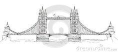✦   tower bridge, london   -  sketch