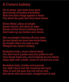 SUICIDE LULLABY | 1000+ images about Suicide\ depression quotes on Pinterest