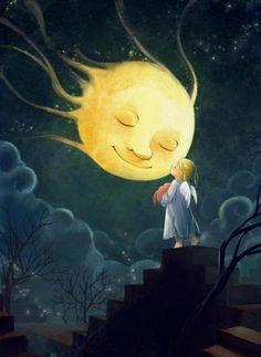 good night Mrs.Moon