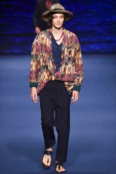 Sfilata Moda Uomo Etro Milano - Primavera Estate 2017 - Vogue