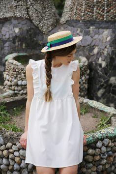 white THE WHITEPEPPER sandals - ivory THE WHITEPEPPER dress