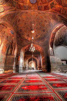 Inside Wazir Khan Mosque / Iran