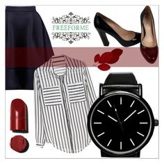 """""""FreeForme 10/7"""" by goldenhour ❤ liked on Polyvore featuring Maje and Miu Miu"""