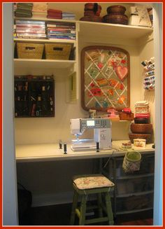 T. in the Burg: My Sewing Closet