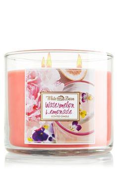 By far, my favorite scented candle.   Watermelon Lemonade 3-Wick Candle - Slatkin & Co. - Bath & Body Works