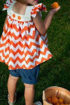 Adore - sewing inspiration with chevrons
