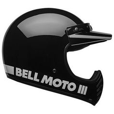 Buy the Bell Moto-3 helmet in black on Motolegends with free UK delivery and returns on all protective wear