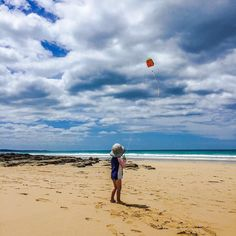Happy beach days #Lorne #kite #kites #aussiesummer #greatoceanroad #beach #seaside #kids #family #familyholiday #holiday #beachdays #happiness #bliss #instaphoto #instamoment by plumbelly