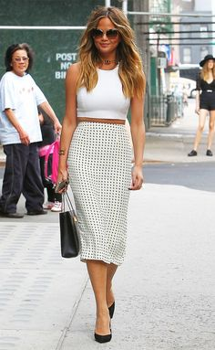 Your Celebrity Guide to Staying Cool While Looking Chic via @WhoWhatWear