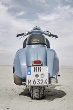 Vespa PX with engine WR 360Husqvarna   The amount of work that went into this phenomenal Vespa custom project is obvious! One of our ...