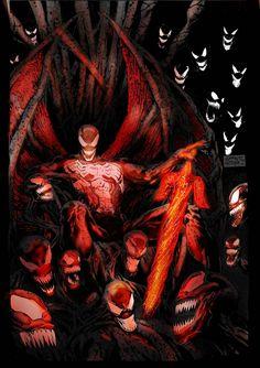 Marvel Venom, Marvel Dc, Venom Art, Heroes For Hire, Spaceship Art, Apex Predator, Spider Verse, Fun Comics, Dark Fantasy Art