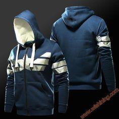 Wishining 2017 Captain America Hoodies Mens Boys Superhero Sweat Shirts  Fashion 3xl 4xl Blue Zip Up