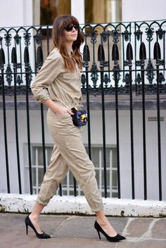 Street style jumpsuit pics - get ready to rock one this fall