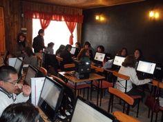"""Primera clase de curso """"Formación Digital para Emprendedores"""" en Nueva Imperial. Región de la Araucanía, Chile."""