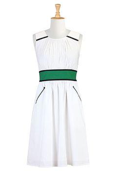 eShakti - Shop Women's designer fashion dresses, tops | Size 0-26W & Custom clothes. Drool. I want this so badly!