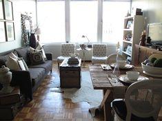 Kempas Mozaïek parket vloer in woonkamer. Deze vloer kost circa $100 per m2 all in geplaatst. Vanaf circa 50 euro per m2.