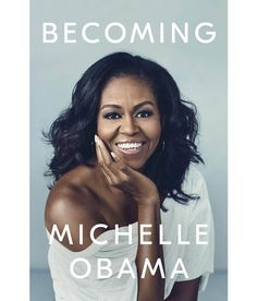 """""""Becoming"""" ~ Michelle Obama opens up about her remarkable journey, from her humble beginnings in Chicago to the day she and Barack Obama left the White House. Obama exudes optimism and hope, and her story is what that will go down in history. Karaoke, New Books, Good Books, Books To Read, Fall Books, Amazing Books, Summer Books, Latest Books, Reading Lists"""