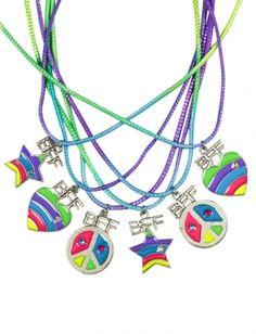 BFF Neon Icon Necklaces