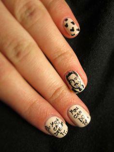 Walt Disney Quote Nails