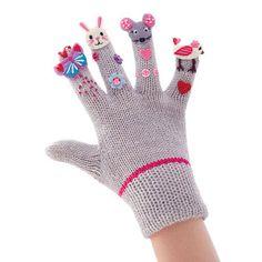 Nevada®/MD Kids' 'Princess' Puppet Finger Gloves