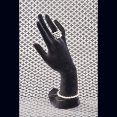 Brand New Jewelry Hand - STRIKE A POSE! Life – like hand poses to show off and display rings and bracelets. Made of black velour with a styrofoam core. Hand includes five fingers for ring display and about 9 inches of wrist space for bracelet display.  GREAT VALUE & INCREASE YOUR SALES HERE ON POSH! DISPLAY AS MANY RINGS & SIZES as you like ❗️ Boll' Bitz Of Glitz  Jewelry Rings