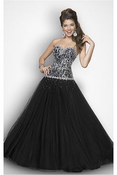 Luxury Black Ball Gown Sleeveless Sweetheart Natural Quinceanera Dresses