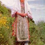 zena iz vrlike 150x150 Tradicionalna nošnje Dlmatinske zagore