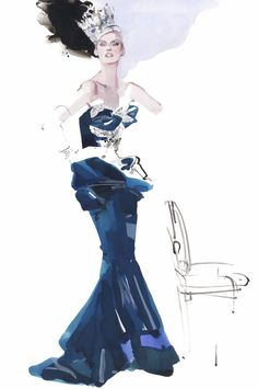 David Downton — Vanity Fair US - 'Beauty and the Brush'