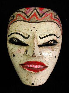 Java, wajang mask mid 20th century