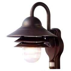 Acclaim Lighting Mariner Collection Wall-Mount 1-Light Outdoor Architectural Bronze Light Fixture-82ABZM at The Home Depot