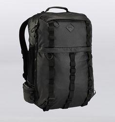 "Burton Traverse 17"" Laptop Travel Backpack - Black Rip Tarp - Rushfaster.com.au Australia"