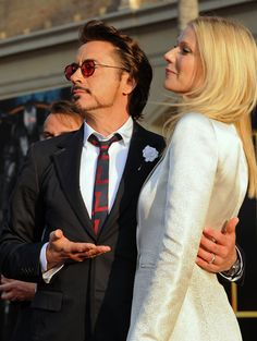 Robert Downey Jr. And Gwyneth Paltrows Most Adorable Moments