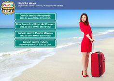 Recorrer la riviera maya es muy sencillo solo comunicate con nosotros y con gusto te atenderemos, envia un whatsapp desde Cancun al 9981097800 o desde otra ciudad de Mexico al 01 9981097800 o desde el extranjero al +52 9981097800 www.cancuntaxi.mx  Cancún centro-Aeropuerto.$250.00 pesos MXN o $17.00 USD. #CancunAeropuerto  Cancún centro-Playa del Carmen.$520.00 pesos MXN o $35.00 USD. #CancunPlayadelCarmen  Cancún centro-Puerto Morelos. $340.00 pesos MXN o $23.00 USD. #CancunPuertoMorelos…