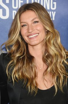The Best Beach Wave Inspiration For Every Hair Length - Gisele Bundchen's long waves