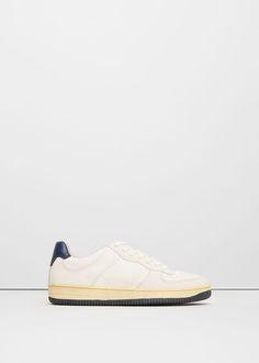d6ac7331d6 Contrast appliqué sneakers - Man