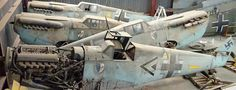 Collection of six Messerschmitts that appeared in 1969 film Battle of Britain sold for £4million after sitting in hanger for decades  - WAR HISTORY ONLINE