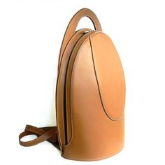 Luxury Camel Leather Backpack for Women от StevenHarkinHandBags