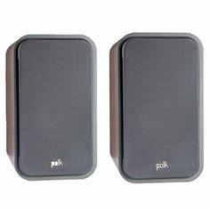 Polk Audio Signature S20 American Series Large Bookshelf Speakers Set Of 2