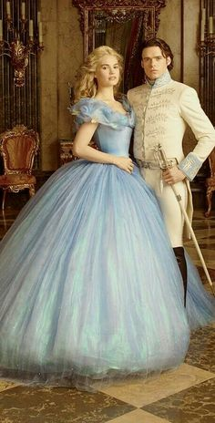 Disney Romance Is Most Like Yours? Cinderella: and Prince Charming, from the 2014 Disney movie.Cinderella: and Prince Charming, from the 2014 Disney movie. Cinderella 2015, Cinderella Movie, Cinderella Dresses, Cinderella Prince, Cinderella Live Action, Cinderella And Prince Charming, Prince Charming Costume, Cinderella Costume, Robes Disney