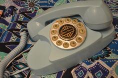 Mi retro teléfono... qué maravilla...