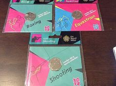 Olympic 50p #fifty pence bunc coins – #boxing, equestrian, #shooting,  View more on the LINK: http://www.zeppy.io/product/gb/2/272362482794/