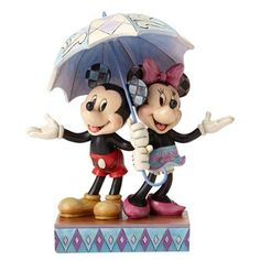 Disney Traditions Mickey and Minnie Sharing Statue - Enesco - Mickey Mouse - Statues at Entertainment Earth