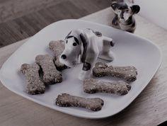 banana and peanut butter dog treats